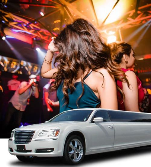 Night Out / Clubbing and Bar Hopping Limousine Transportation
