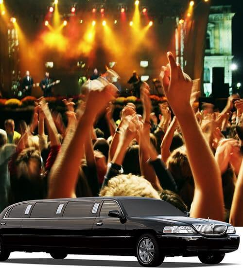 Concert/Show Events Limousine & Car Service Transportation